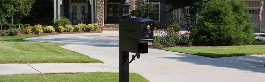 Pedestal Mailboxes for USPS Approved Post Mounted Styles