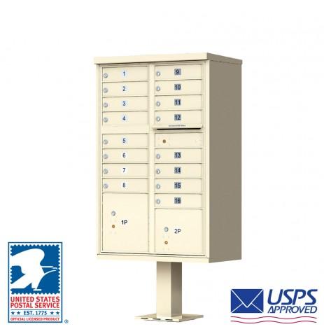 16 Tenant Cluster Box Unit