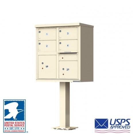 4 Tenant Cluster Box Unit