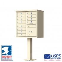 12 Tenant Cluster Box Unit