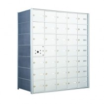 4B Horizontal Mailbox with 34 Doors