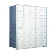 4B Horizontal Mailbox with 34 Doors