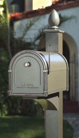 Premium Brass Pedestal Mailbox